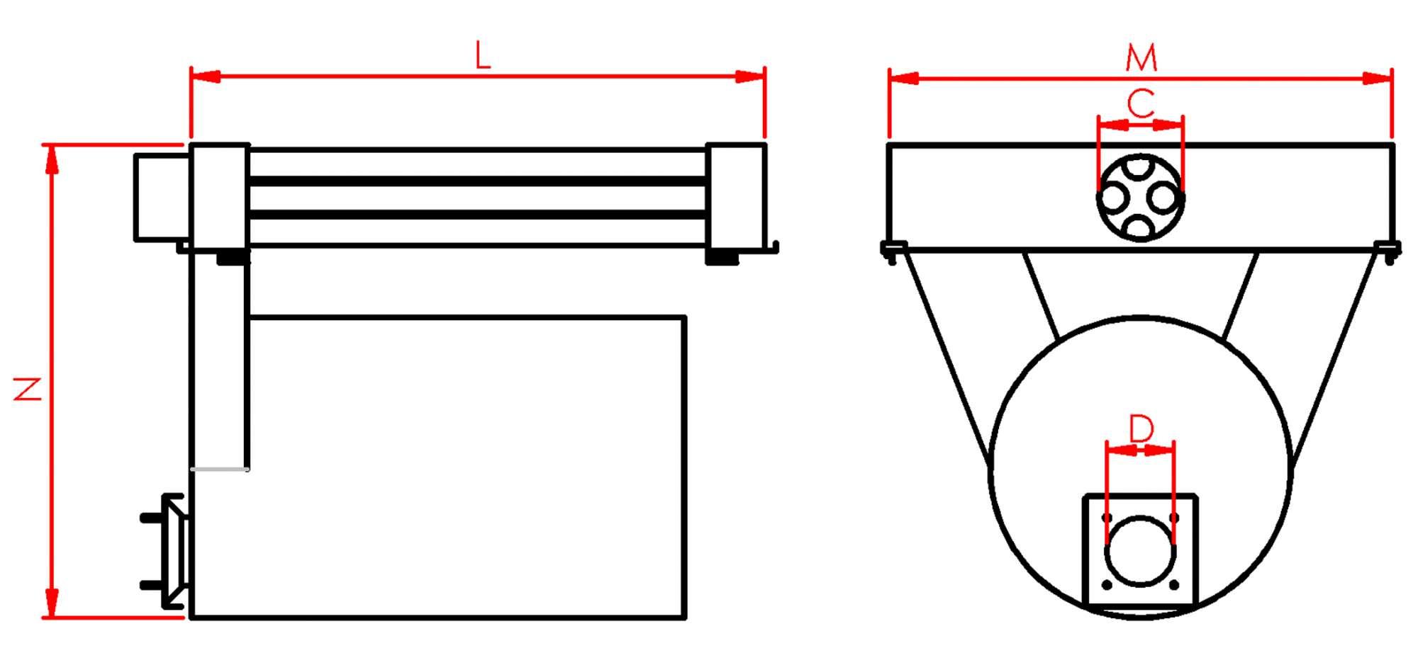 Теплообменник в покрасочную камеру купить Кожухотрубный испаритель ONDA HPE 725 Сергиев Посад