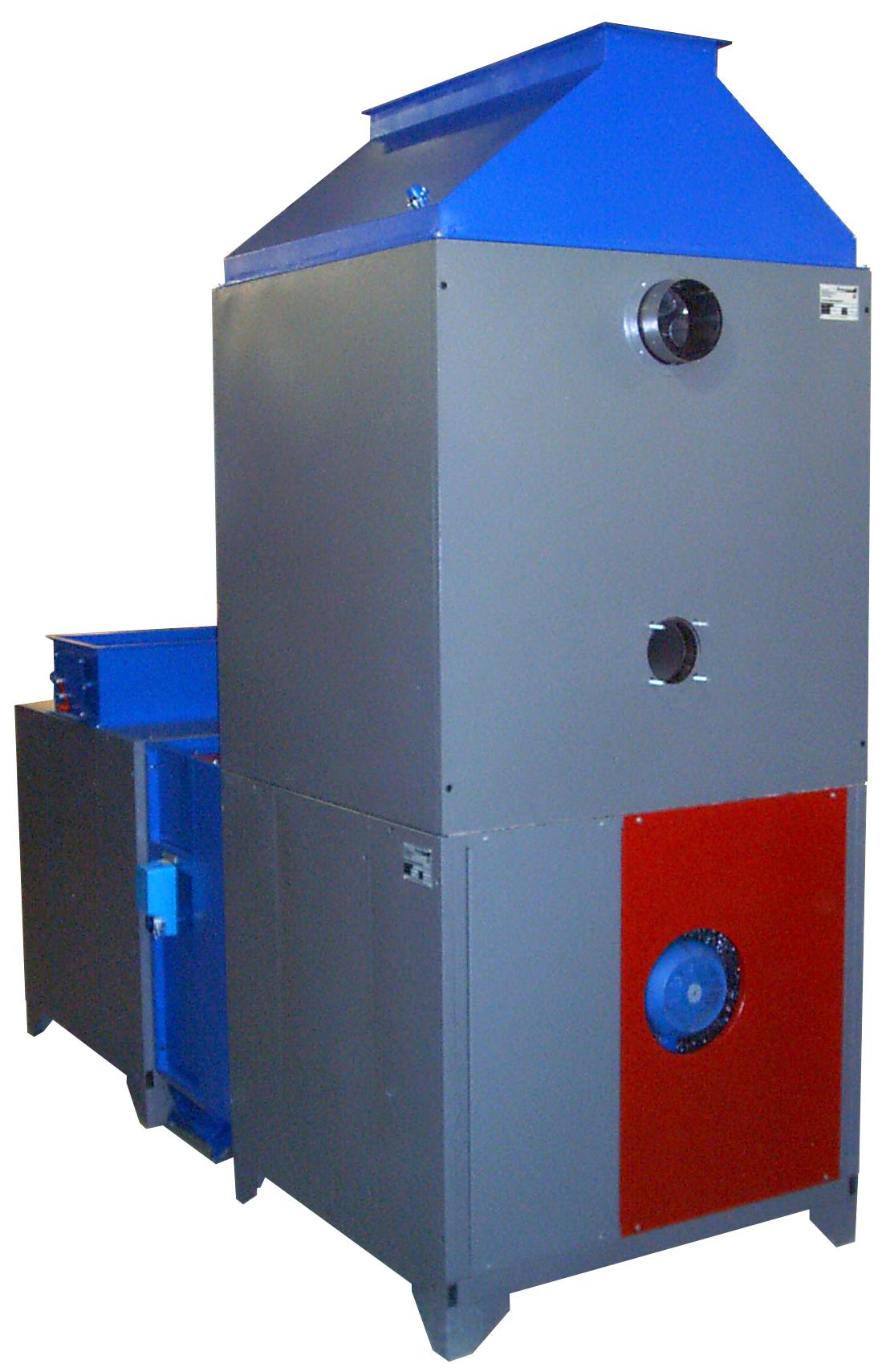 схема отопления сушильных камер